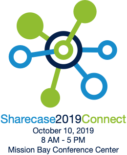 Sharecase 2019: Connect, October 10, 8 AM - 5 PM, UCSF Mission Bay Conference Center
